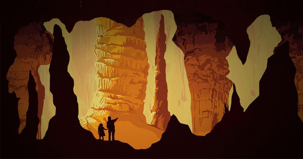 Gem Sluice - Luray Caverns
